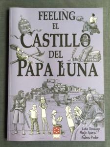 Ilustraciones a medio concluir para que los niños de 5 a 12 años conozcan mejor la historia del Papa Luna y también la ciudad de Peñíscola