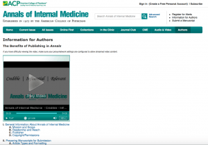 Annals of International Medicine